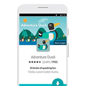Google Ads - ejemplos de campañas en Apps