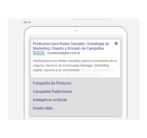 Google Ads - ejemplos de campañas de búsqueda