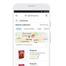 Google Ads - ejemplos de campañas en Shopping