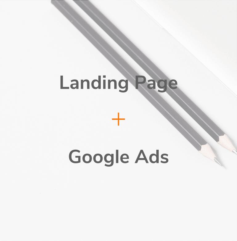 Pack Landing Page + Google Ads