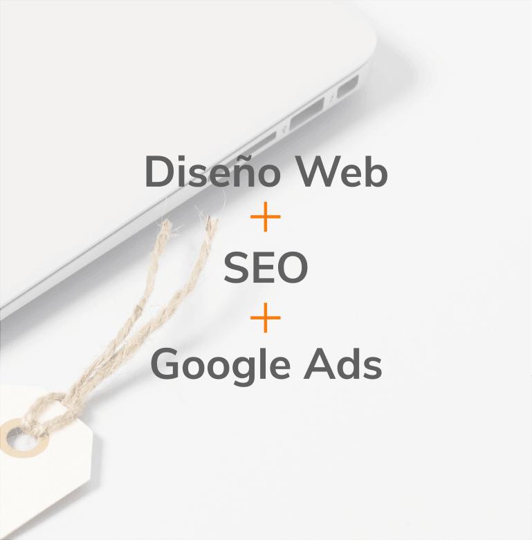 Pack Diseño Web + SEO + Google Ads