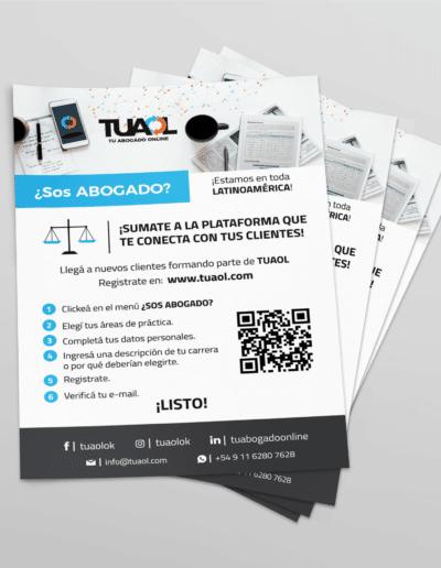 folleto Tu Abogado Online