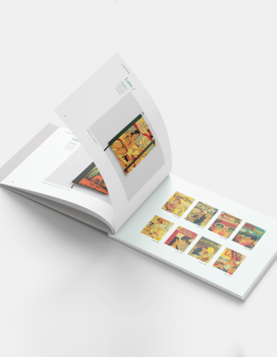 catálogo impreso