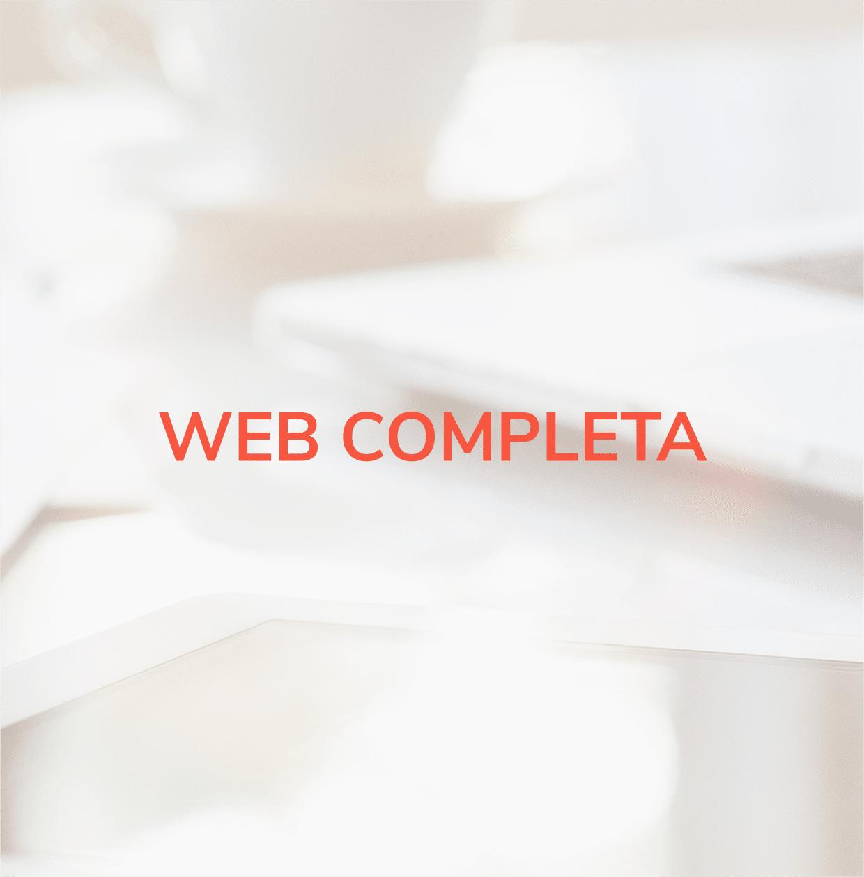 Diseño de Web Completa