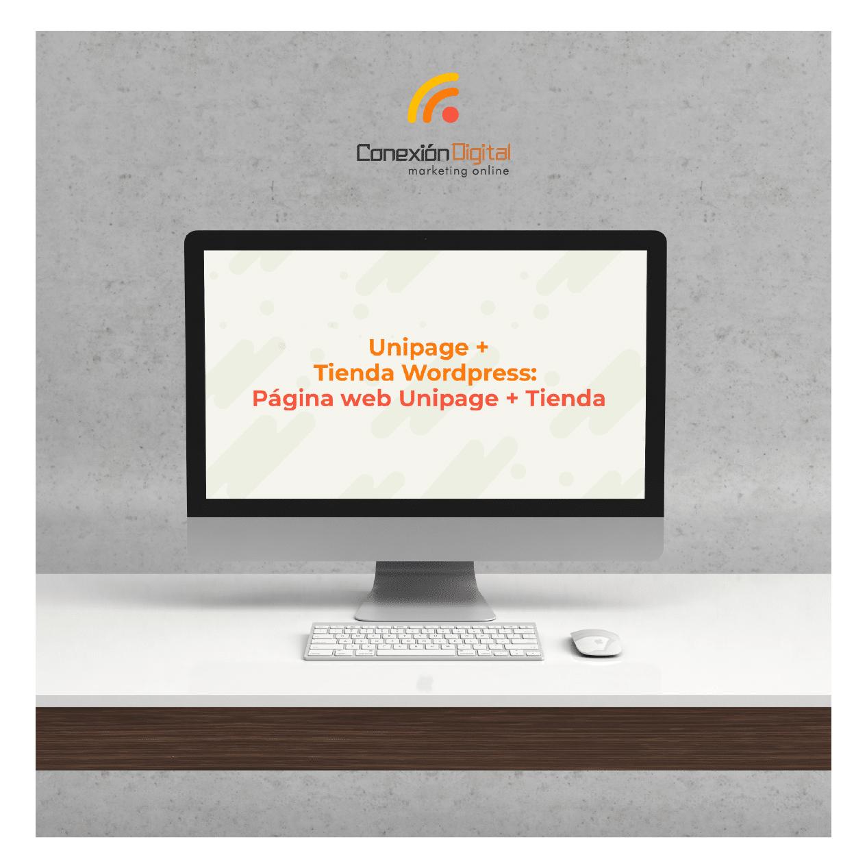 Unipage + Tienda WordPress