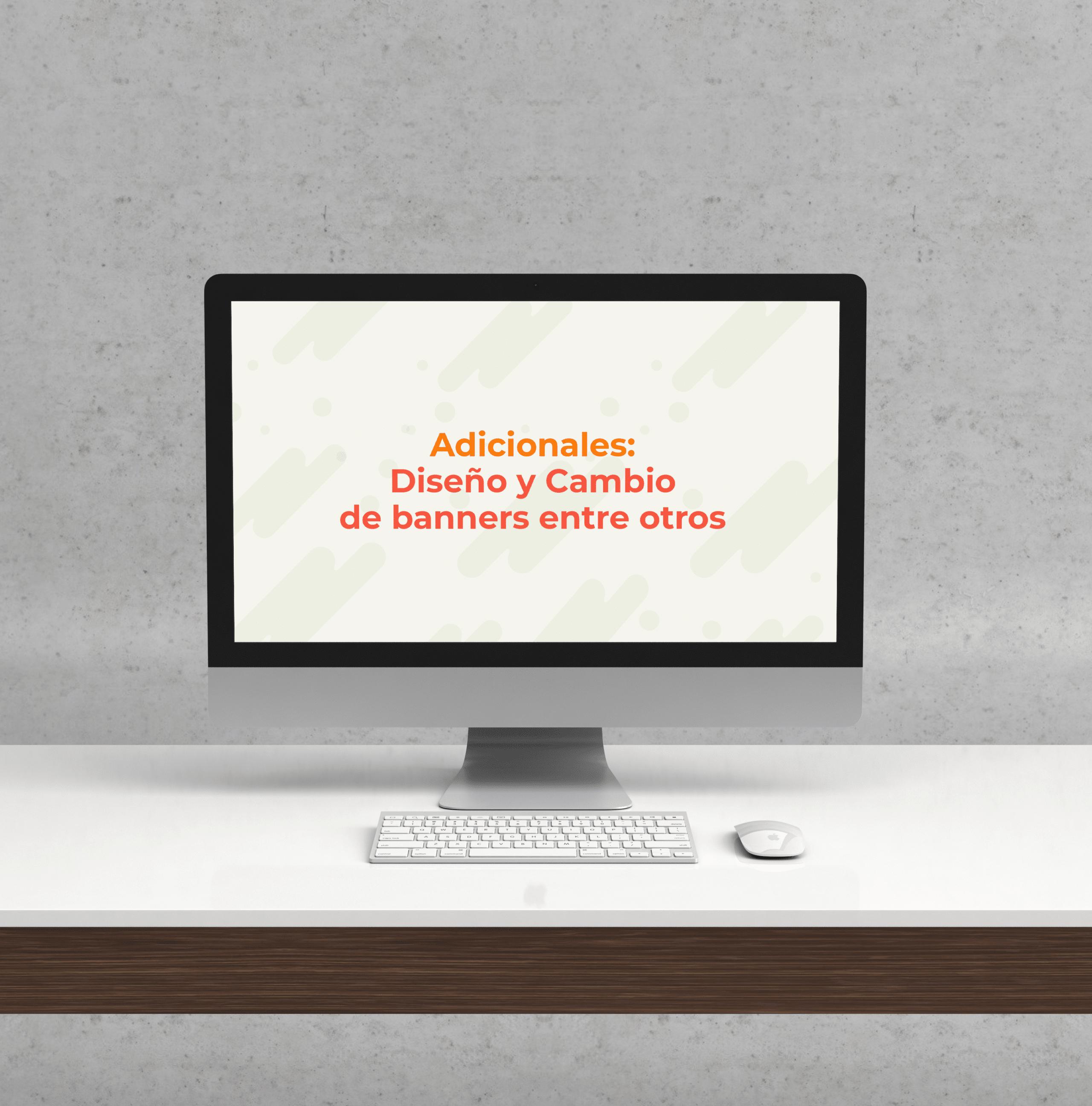 Servicios adicionales para diseño web
