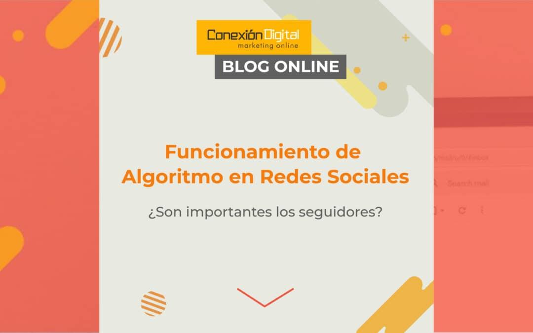 Redes Sociales y sus algoritmos. ¿Son importantes los seguidores?