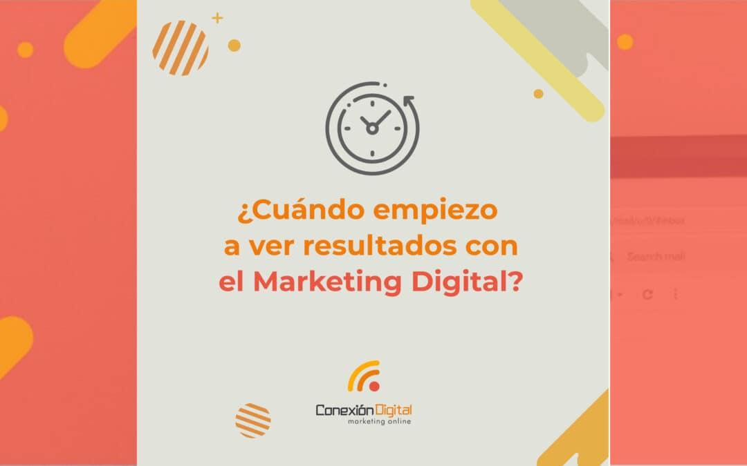 una buena estrategia de marketing digital permite definir resultados