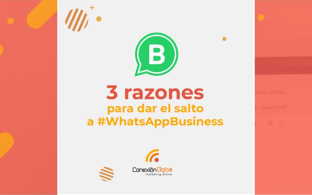 """La experiencia"" de WhatsApp Business"